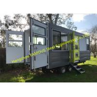 China Modern Design Shipping Container House On Wheels Tiny Container Home With AUS/NZ Approved on sale