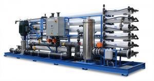 China Carbon Steel 30tph 20m3 Reverse Osmosis Desalination machine on sale