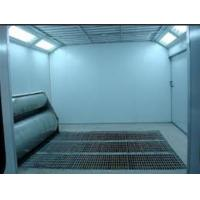 China Electric Furniture Spray Paint Booth With Downdraft 24*5*3.2m wholesale