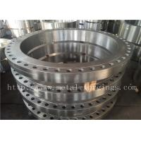 China SA182- F316  F316L Forged Stainless Steel Flange Max OD 2500mm wholesale