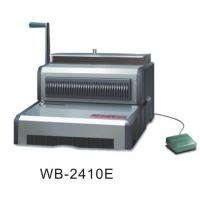 China CE Electric Wire Binder Machine 297mm Binding Width For Calendar / Documents wholesale