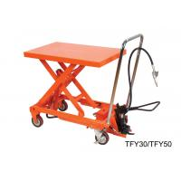 China High Performance Lab Hand Lift Table With Removable Chromed Handle Frame wholesale