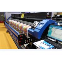 China PVC Flex Banner 3.2M Eco Solvent Printer With 3 Epson DX7 Printhead wholesale