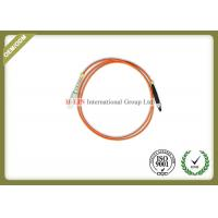 China SMA To SC Optical Patch Cord , Simplex / Duplex Fiber Optic Patch Cables  wholesale