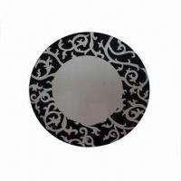 China Wall Mirror in Venetian Style, with Silkscreen Printing wholesale