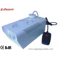 China Stainless Steel Smoke Machine Portable mini Fog Machine For Party Four Color OEM Wire Control  X-04 wholesale