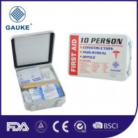 China Outdoor 10 Person Kids OSHA ANSI First Aid Kit Mini First Aid Pack With PP Box wholesale