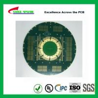 China Designing Pcb Boards Custom Circuit Board 18L 4.5MM 8MIL IMMERSION GOLD wholesale