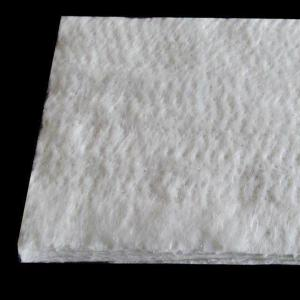 China White color 20mm thickness fiberglass needle mat used for insulation wholesale