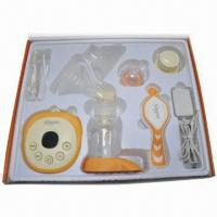 China Electronic Massage Breast Pump with massage breast pad and battery drive ways wholesale