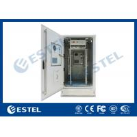 China dual walls outdoor telecom cabinet with air conditioner with two air conditioner wholesale