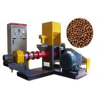 China Africa fish farm Feed Pellet Machine , Floating Fish Feed Extruder Machine wholesale
