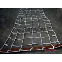 China Marine Scrambling Net  Boat Safety Ladder With Wooden Spreaders PE / Nylon wholesale