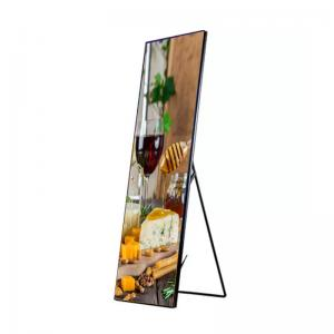 China P2.5 Smart Led Poster Display 1100cd 280*210mm For Indoor Shopping Mall wholesale