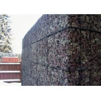 China Decorative Gabion Calddings For Garden Fence Wall , Landscaping Stone Cage on sale
