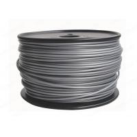 China Silver Plastic 3D 3MM PLA Filament Printing Material For Reprap 3D Printers wholesale