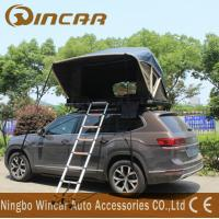 China Overland Car Roof Mounted Tent With One Ladder Open In One Side Manually wholesale