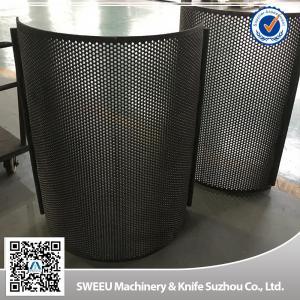 China High Quality China Granulator Screens for Plastics wholesale