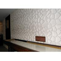 China Colored Decorative Embossed panels for TV SPA Bed Wallpaper 3d Sandwich Board wholesale