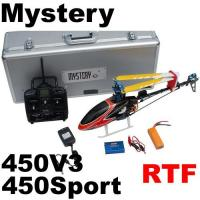 China 450V3 450 Sport Rtf 3D 2.4G 6CH RC Helicopter Clone Align Trex (10030604) wholesale