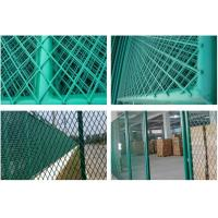 China Powder Coated Stainless Steel Expanded Metal Mesh For Fence 0.30-5.0mm Thickness wholesale
