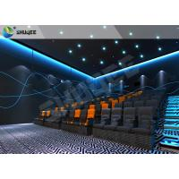 China Realistic Impressive 4D Movie Theater With Stable Performing Motion Seats wholesale