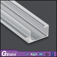 China aluminum extrude global market modern CNC curved woodgrain electrophoretic kitchen cabinet shower door handle profiles wholesale
