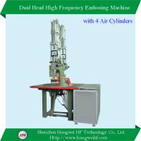 China Dual Head High Frequency Sealing Machine with extra Air Cylinders on sale