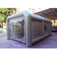 China Portable Waterproof Inflatable Car Paint Spray Booth With Cotton Filter on sale