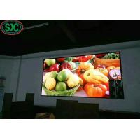 Buy cheap SMD2121 P4 Iron cabinet Advertising LED Screens Indoor For Meeting / LED Video Walls 3 years warranty from wholesalers