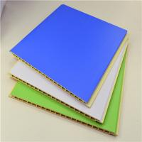 China Laminated Interior PVC Exterior Wood Wall Panels / Ceiling Panels Bamboo Fiber wholesale