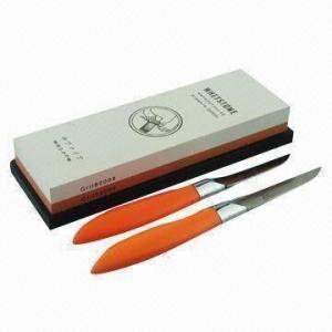 China Corundum Kitchen Knife Sharpener Whetstone on sale