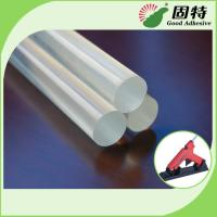 China EVA And Viscosity Resin Clear 11mm Glue Sticks For Glue Gun Hot Melt wholesale