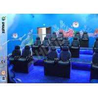 China Ocean Park 30 Motion Chairs XD Theatre With Cinema System Entertainment wholesale