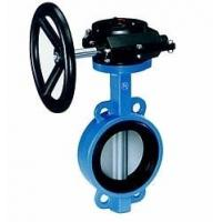 Industrial butterfly wafer valve With Gearbox , PN 10 Bar Hand / Manually Operated,CAST IRON,WCB
