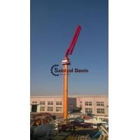 China Full hydraulic 29m 33m self-climbing column concrete placing boom without counter weight on hot selling wholesale