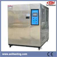 China 3 Zone SUS 304 Electric Power LCD Thermal Shock Chamber -60 To 200 Degree wholesale