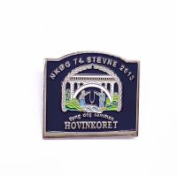 China Professional Soft Enamel Lapel Pins , Epoxy Pin Badge Size Customized on sale