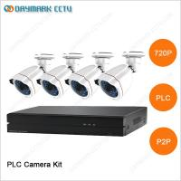 China New tech network 4CH 720P Plug and Play PLC Security Camera System wholesale