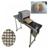 China Green and efficient egg Jet Coding Machine , industrial continuous inkjet printers  wholesale
