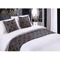China Woven Fashion Design King Size Bed Runner / Cotton Quilted Bed Runner wholesale