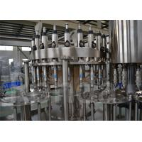 China Stainless Steel Commercial Bottling Equipment , Beverage Bottled Water Filling Machine wholesale