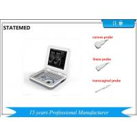 China Diagnostic Laptop Ultrasound Machine Dynamic Electron Focusing For Human Body wholesale