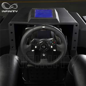 Quality 1 Person 9D VR Simulator Terninator Racing Car Virtual Arcade Games Machines for sale