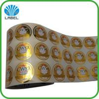 China Beer Lable Plastic Wrapping Foils Hot Stamping Printing 12 Micron Thickness wholesale