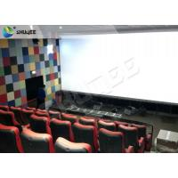 China Durable 4 People 4D Dynamic Cinema 4D Cinema Equipment With Motion Chair wholesale