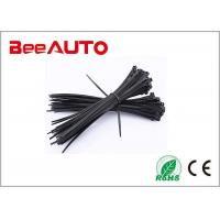 China 3.6*300mm Self-Locking Nylon Cable Ties 200Pcs/Pack Cable Zip Tie Loop Ties For Wires Tidy Black White wholesale