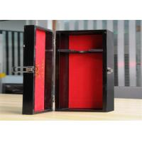 China Personalized Environment Friendly Luxury Wood Jewelry Display Boxes With Lock wholesale