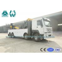 China Multifunctional Wrecker Tow Truck 50 Tons with Fuel Type Diesel HOWO wholesale
