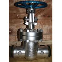 China API carbon steel BW industrial gate valve butt welded ends ANSI Class 300lbs-1500lbs wholesale